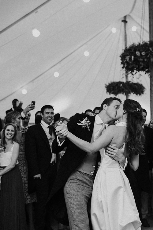 Couples First Dance at Greenhill Farm